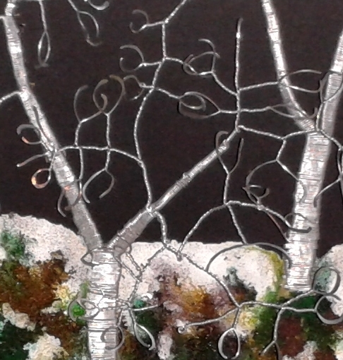 Winter Forest Wire Picture small