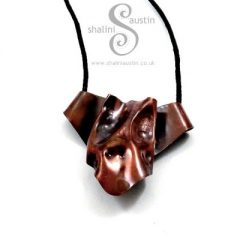 Fun Copper Pendant, Great Gift for Dog Lovers!