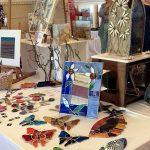 Stained Glass at ESC Artists Market in Stamford on 11 June 2017
