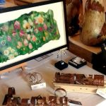 Felt and copper at ESC Artists Market in Stamford on 11 June 2017