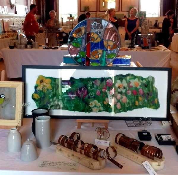 Felt & Copper at ESC Artists Market in Stamford on 11 June 2017