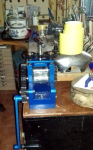 Rolling Mill installed on my workbench