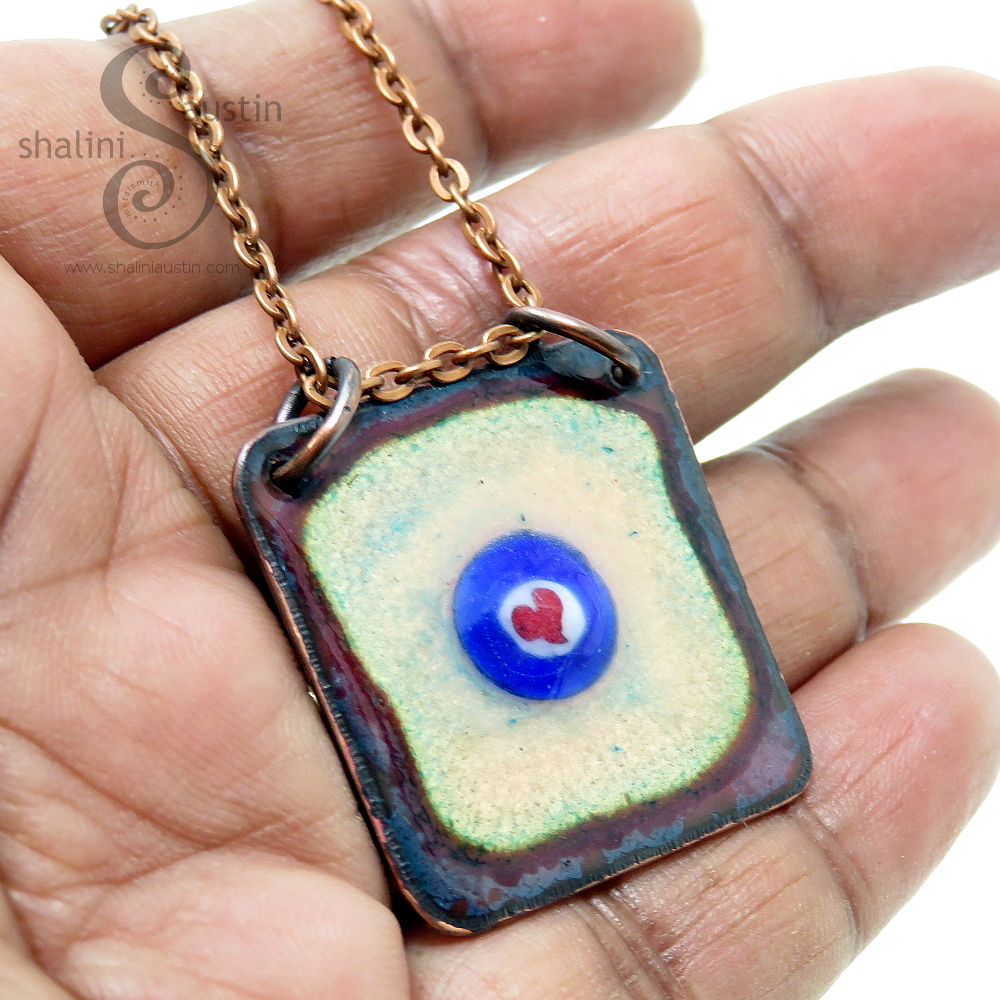 Enamelled Copper Jewellery Handcrafted in Stamford, UK