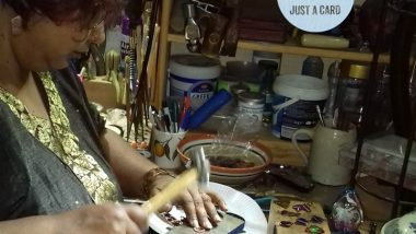 Shalini Austin Metalsmith for Just A Card Indie Week