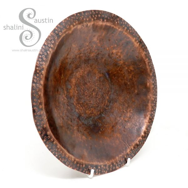 Hand forged Copper Bowl made from Reclaimed Copper