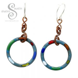 New Copper Earrings made with Copper Washers