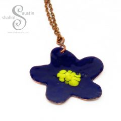 394-7-enamelled-copper-flower-pendant-blue-gold
