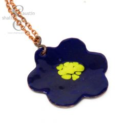 394-9-enamelled-copper-flower-pendant-blue-gold-1