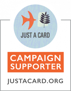 I support Just a Card